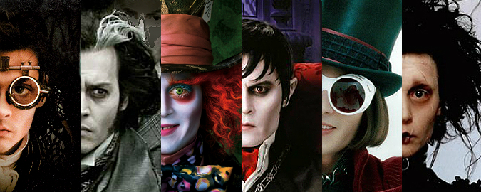 Personagens de Johnny Depp