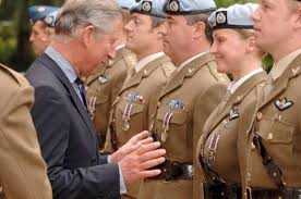 prince charles exercito