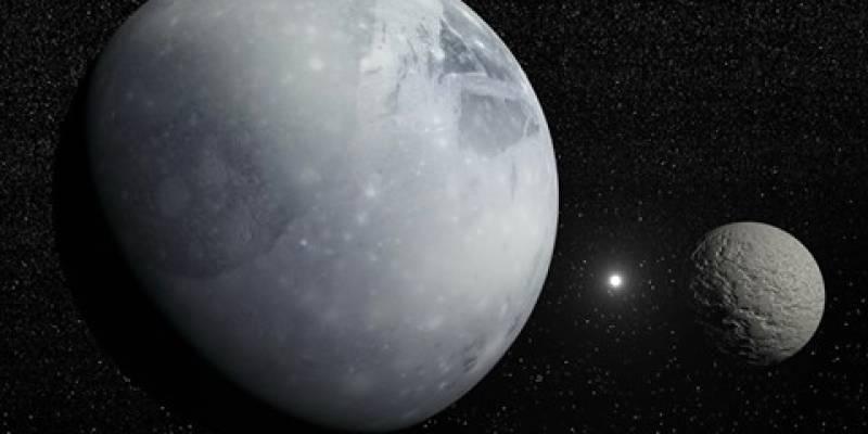 Observando Plutão