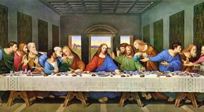 A Última Ceia de da Vinci